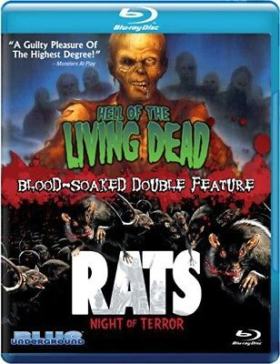 Hell of the Living Dead / Rats Night of Terror [New Blu-ray]
