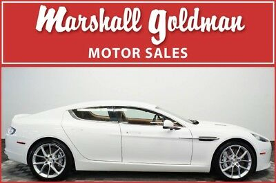 2014 Aston Martin Rapide S Sedan 4-Door 2014 Aston Martin Rapide S White with tan and chocolate only 5800 miles