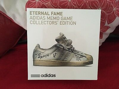 Adidas Eternal Fame Memo game Limited Edition