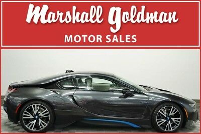2014 BMW i8 Base Coupe 2-Door 2015 BMW i8 in Sophisto Grey over Carum Spice Grey with only 3,100 miles