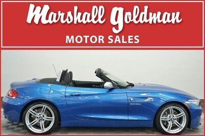 2016 BMW Z4 sDrive35is Convertible 2-Door 2016 BMW Z4 Sdrive35is in Estoril Blue with Black leather and only 804 miles