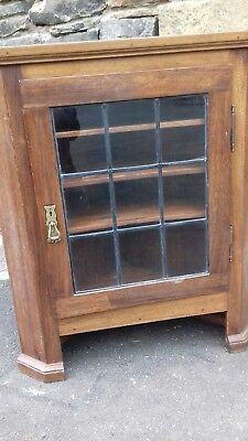 Antique 19Thc French Ecclesiastical Corner Cupboard From Angers France