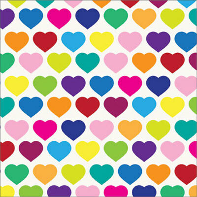 All Hearts Tissue Paper Multi Listing 500x750mm