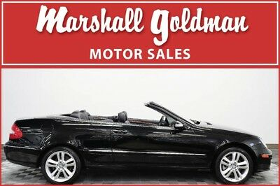 2009 Mercedes-Benz CLK-Class  2009 Mercedes Benz CLK350 Cabriolet Black with Black leather only 27,600 miles