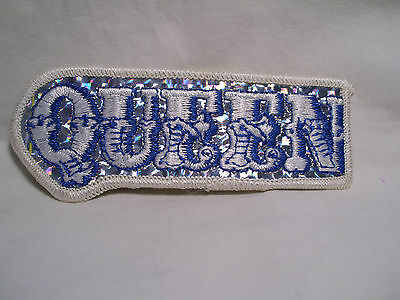 ORIGINAL VINTAGE 1970's  ~ QUEEN  ~  PATCH ~  VERY NICE!!