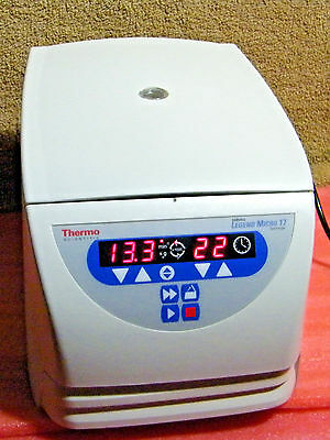 Thermo Fisher Sorvall Legend Micro Centrifuge 17 with 2 Rotors