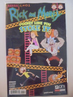 Rick and Morty: Pocket Like You Stole It #3 B Cover Oni Press VF/NM Comics Book