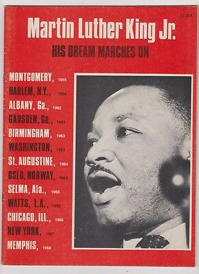 1968 MARTIN LUTHER KING JR. Memorial  - His Dream marches On