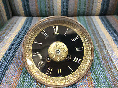 French Clock Movement With Dial & Bezel