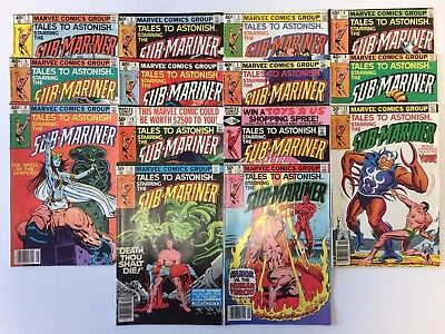 Tales to Astonish Vol. 2 #1 to 14 Complete Comic Book Set Marvel 1979