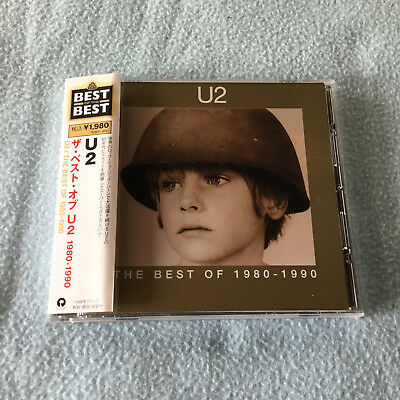 "U2 ""the Best Of 1980-1990"" Cd Japan Press Obi"