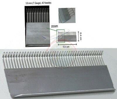 Transfer Combs 3.6mm Knitting Machine-Brother Singer Silver-Reed KR120 FRP70