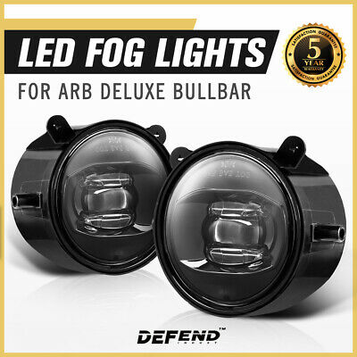 Pair 30W ARB Bullbar Led Fog Driving Lights Offroad 4×4 Truck Lamp