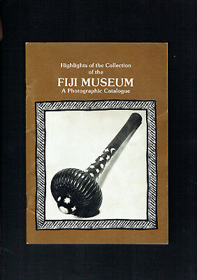 #t72.  1980 Booklet - Hioghlights Of The Fiji Museum Collection