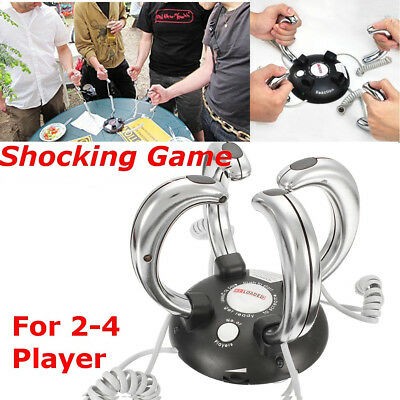 Lightning Reaction Reloaded Electric Shocking Game 2-4 Player Party Revenge Fun