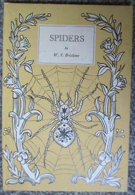 A Book Of Spiders By W S Bristowe King Penguin Books 1st Edition 1947 #K35