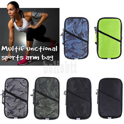 Universal Sports Running Jogging Gym Arm Band Pouch Holder Bag For Cell Phone US