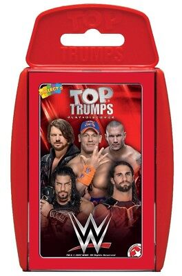 Top Trumps 2017 Version Wwe World Wrestling Stars Card Game Brand New