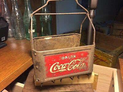 1930s TIN/WIRE Coca-Cola carrier