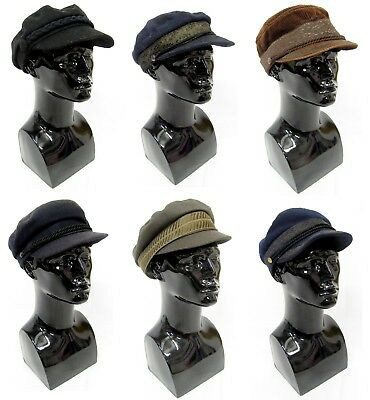 6 Mens Vintage Prince Henry Sailor Hats Caps Prussia German Wholesale Joblot #1