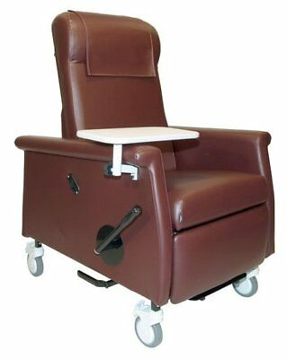 Extra Large Nocturnal Elite Care Recliner with LiquiCell Burgundy Heat, Massage
