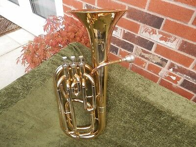 Elkhart by Vincent Bach 100BH Bb Baritone Horn With Carrying Case