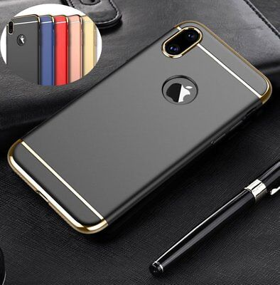 For Apple iPhone X 8 Plus 7 6 6S Luxury Ultra Thin Hybrid Slim Hard Case Cover