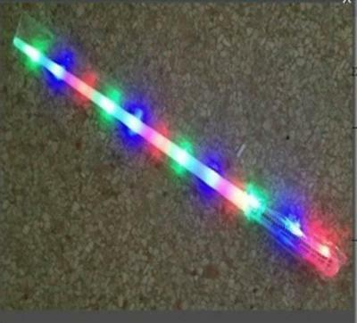 6 NEW COMPLETE RAINBOW LED SABERS SWORD light up kids play toy PLAY boy swords