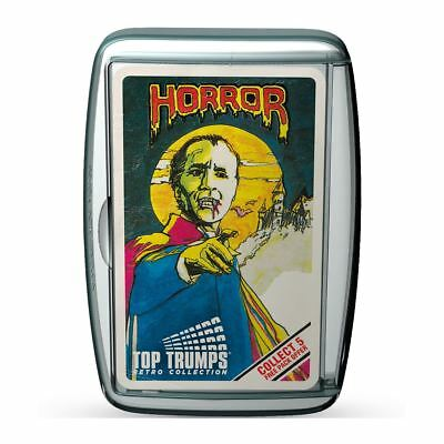 Top Trumps Retro Limited Edition Horror Pack 1 2017 Card Game Brand New
