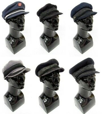 6 Mens Vintage Prince Henry Sailor Hats Caps Prussia German Wholesale Joblot #4
