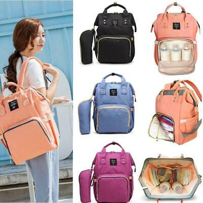 Multifunctional Baby Diaper Backpack Mommy Changing Bag Mummy Backpack Nappy Hot