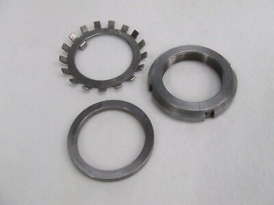 Ammco 7000 Arbor Lock Nut, Washer, Spacer & Splash Shield 906980 906981 910303