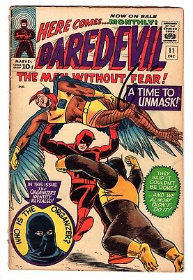 "Daredevil #11 (Volume 1; 1965) Marvel Comics - ""very Good"" Grade"