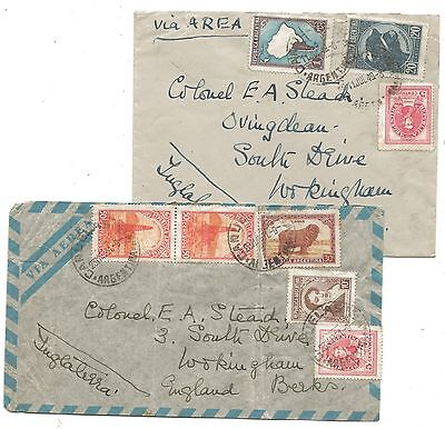 1940's Argentina to Colonel Stead Wokingham Covers