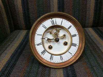 French Open Escapement Movement With Dial