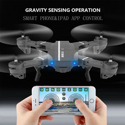 AU 8807W 6-Axis Gyro RTF RC Quadcopter Helicopter Drones 0.3/2.0MP HD Camera FPV