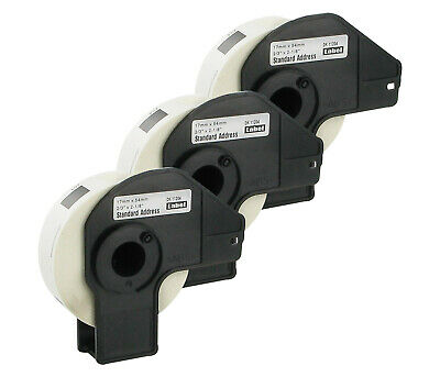 3x Multi-Purpose Labels Compatible with Brother Dk-11204 Dk11204 Dk 11204