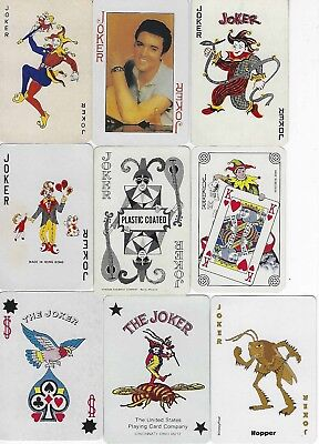 9 Swap Playing Cards - Jokers R