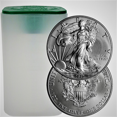2017 SAE Silver American Eagle 1 oz. .999 fine Coin US $1 Brilliant Uncirculated