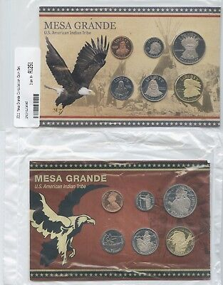 2 Diff. American Indian Coin Sets