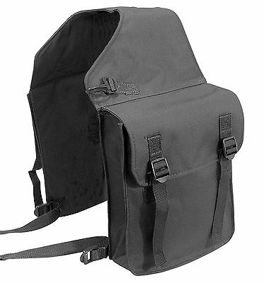 Pfiff saddle-bag Double Pannier Bag Nylon Saddle Bag Horse Black