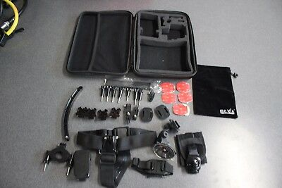 GoPro Hero assorted accessories and Padded Case