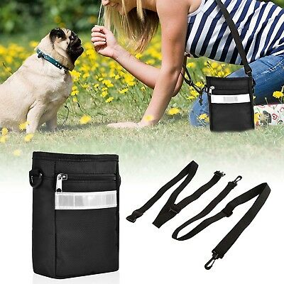 Dog Treat Pouch Training Bag with Built-in Waste Bags Dispenser-Canadian Seller