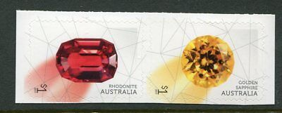 2017 Rare Beauties! Extraordinary Gemstones - Pair of Booklet Stamps