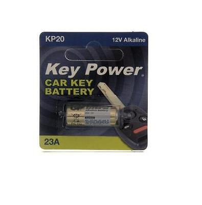 New Key Power 23A Car Key Battery 12V Alkaline
