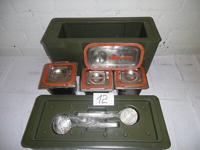 1xThermobox Rieber 100K Thermobehälter Thermoport Catering 5P.Kofferküche Bw(12)