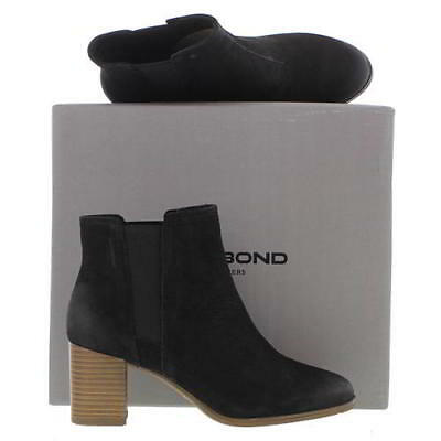 60d3e291b6 Vagabond Lottie Womens Black Nubuck Leather Chelsea Ankle Boots Size 3.5-7.5