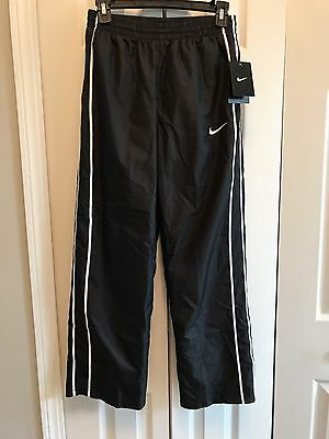 Youth Boys NIKE Athletic Pants Size L Black NWT