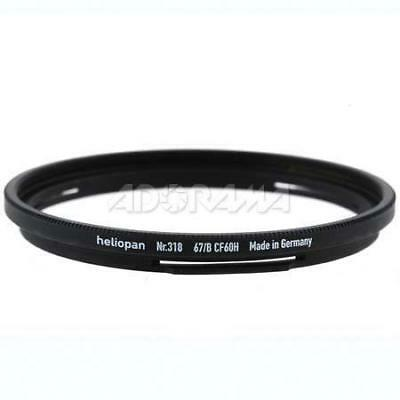 Heliopan #336 Adapter Ring, 67mm Lens Size to Bay 60 Filter Size #700336