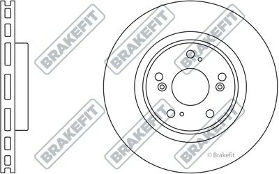 fit HONDA Insight Jazz PAIR D1711 EBC Standard Brake Discs Rear